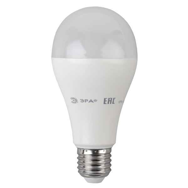 Лампа светодиодная ЭРА ECO LED A65-20W-827-E27