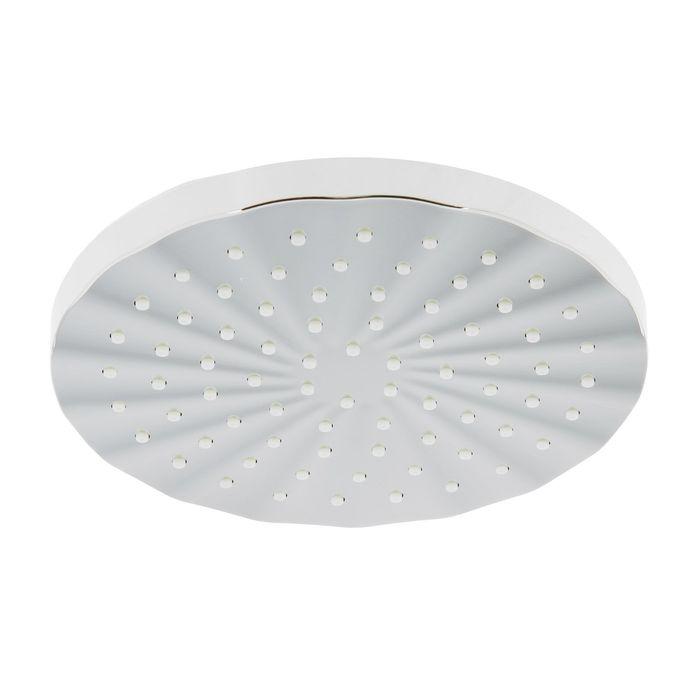 Лейка душевая Accoona A353, на шарнирном креплении, d=20 см, круг, пластик