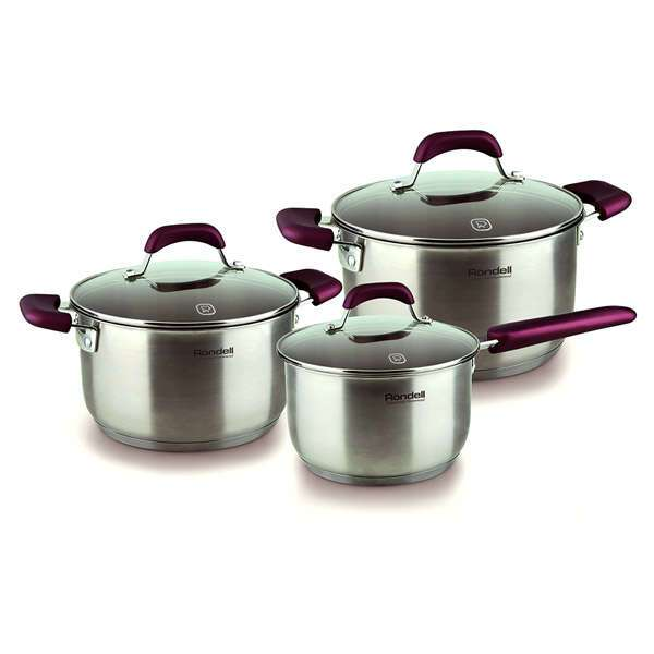 Набор посуды Rondell Bojole RDS-823 (6 предметов)