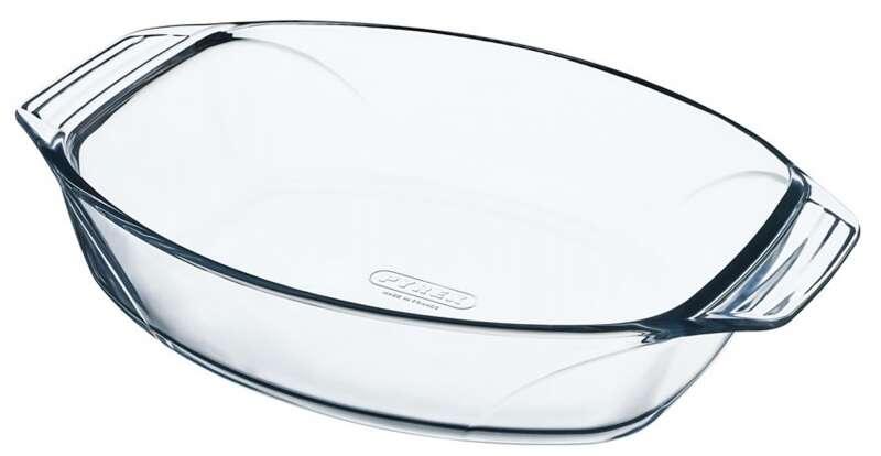 Термостойкая посуда овальное 40*28 см 4,2 л Pyrex 412В000/6144/4