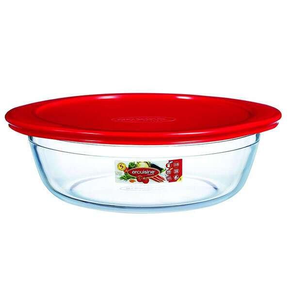 Термостойкая посуда круглая с крышкой 2,3л  Pyrex Аркосин 208PА00/Е2087963