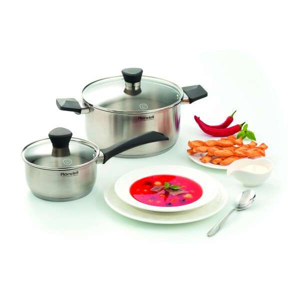 Набор посуды Rondell Strike RDS-819 (4 предмета)