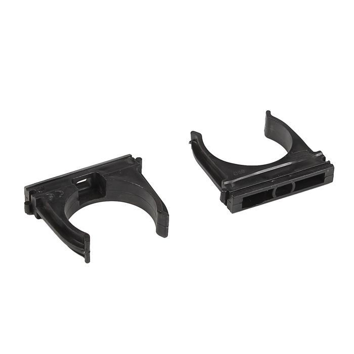Крепеж-клипса T-plast, d=50 мм, черная, набор 25 шт, 55.05.003.0006,
