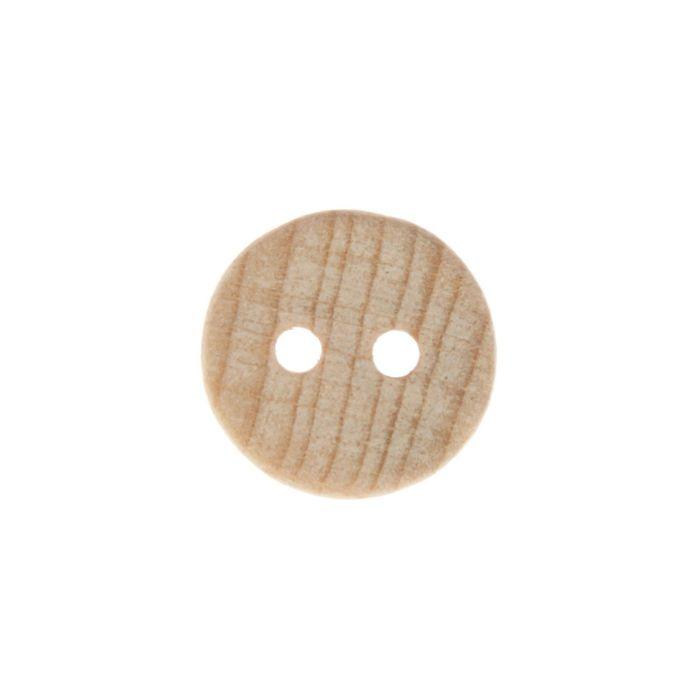 Пуговица с двумя отверстиями, 16 мм