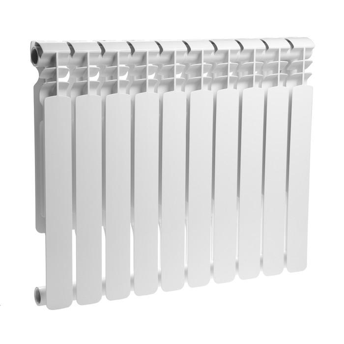 Радиатор биметаллический Oasis, 500 х 70 мм, 10 секций