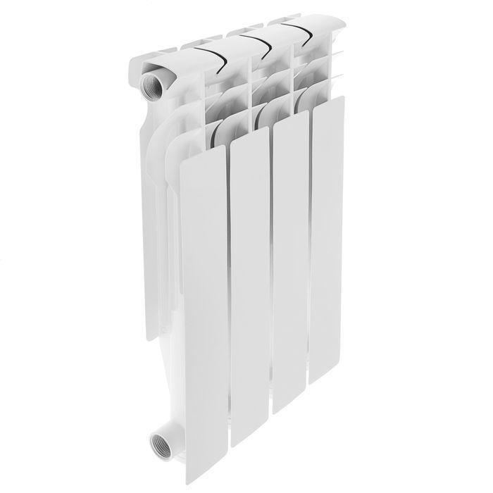 Радиатор алюминиевый Oasis, 500 х 80 мм, 4 секции