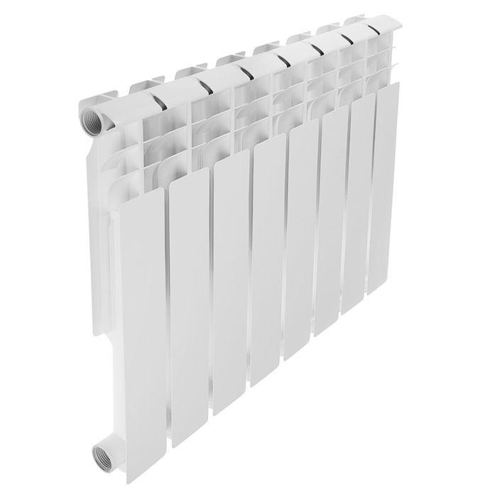 Радиатор алюминиевый REMSAN Professional, 500х80 мм, 8 секций