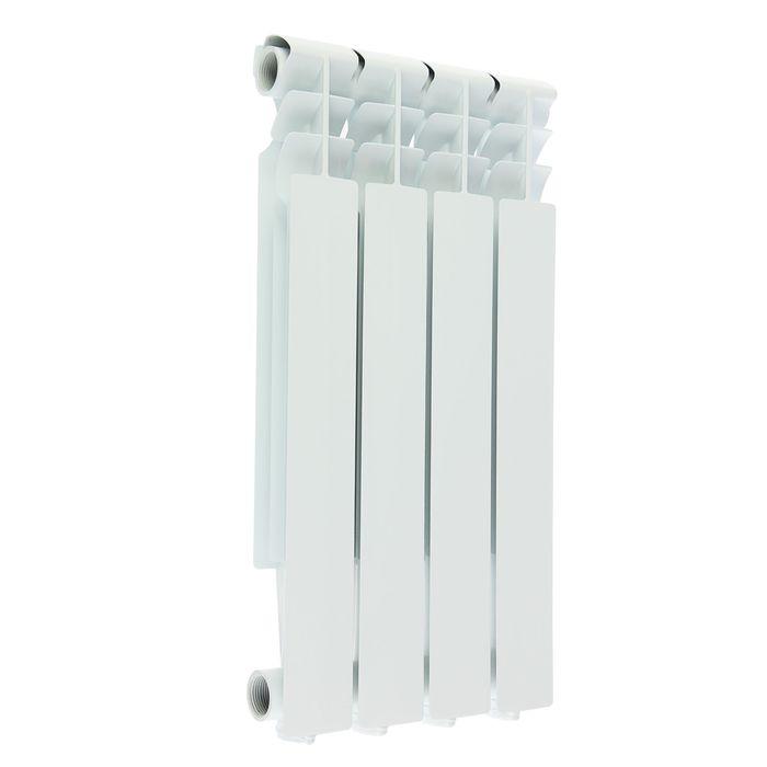 Радиатор алюминиевый Oasis, 500 х 70 мм, 4 секции