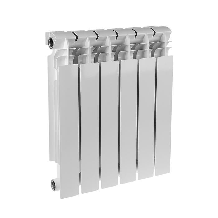 Радиатор биметаллический REMSAN EXPERT РБС, 500 × 100, 6 секций