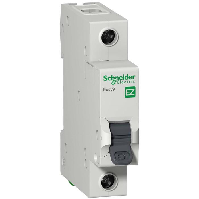 Выключатель автоматический Schneider Electric серии Easy 9, 1п, 25 А, х-ка С, 4.5 кА