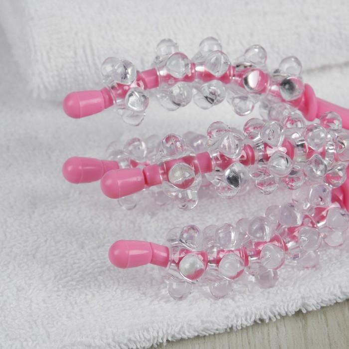 Массажёр, цвет розовый