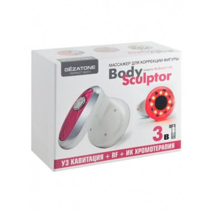 Прибор для ухода за кожей Gezatone Bio Sonic 1130, ИК-прогрев, антицеллюлитный