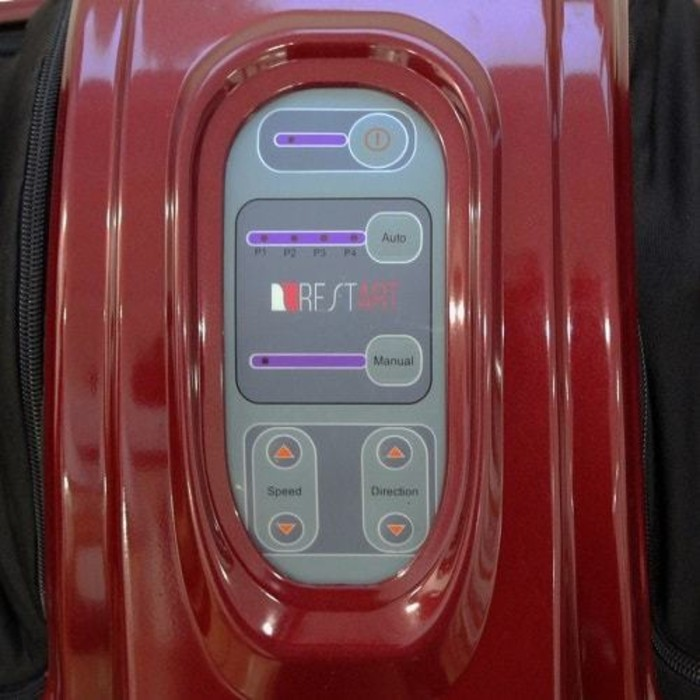 Массажер для ног RestArt RA-341 Bliss, 4 программы, красный