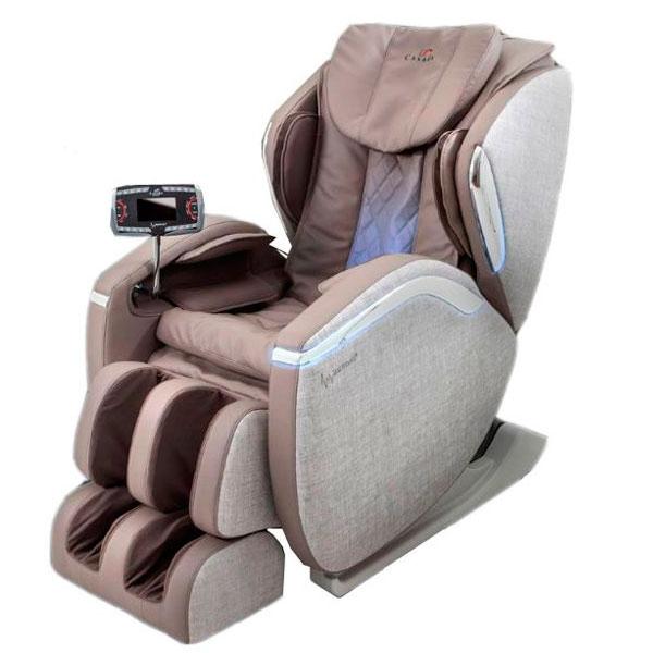 Массажное кресло Casada Hilton III CMS-546 (Cream, PU/fabric)