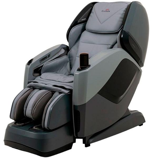 Массажное кресло Casada CMS-553 AURA (grey/black, PU)