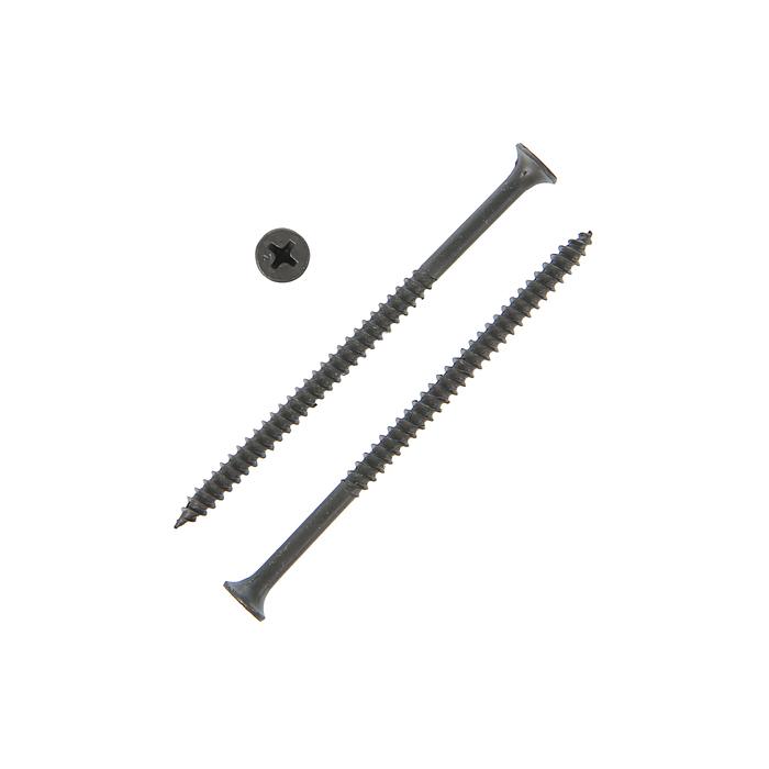 Саморезы по металлу, 4.2х75 мм, потайной, оксид, частый шаг, 12 кг