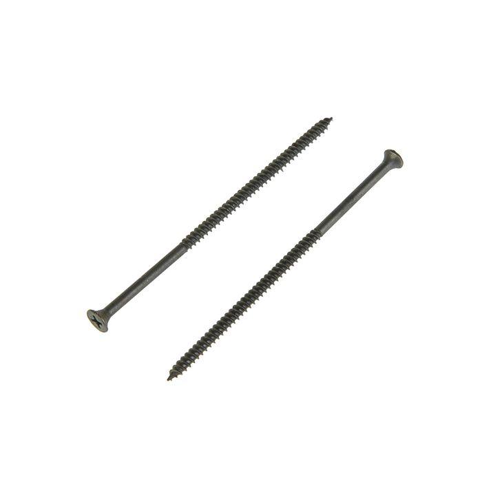 Саморез по металлу TUNDRA krep, 4.8х102 мм, частая резьба, фосфатированный, 15 кг