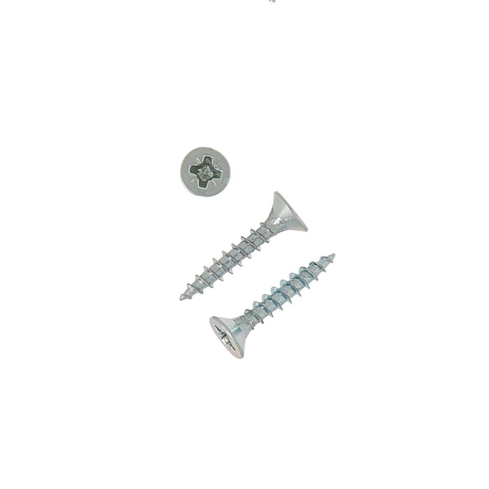 Саморезы универсальные TECH-KREP, ШУц, 3.5х20 мм, цинк, потай, 18000 шт.