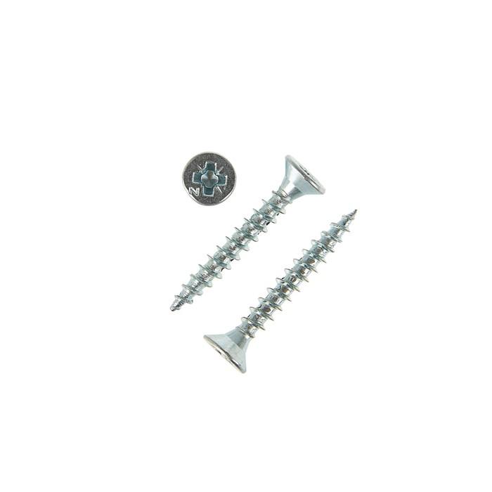 Саморезы универсальные TECH-KREP, ШУц, 3.5х25 мм, цинк, потай, 16000 шт.
