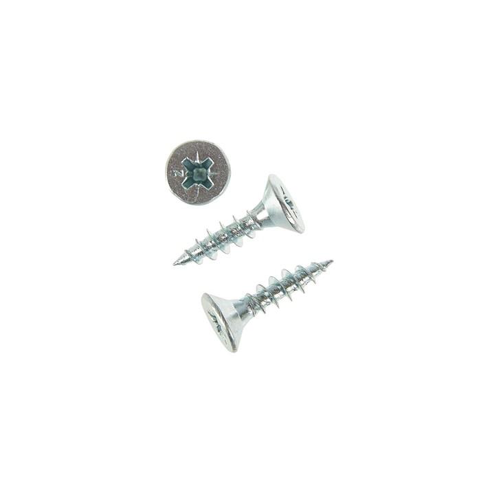 Саморезы универсальные TECH-KREP, ШУц, 5х20 мм, цинк, потай, 10000 шт.