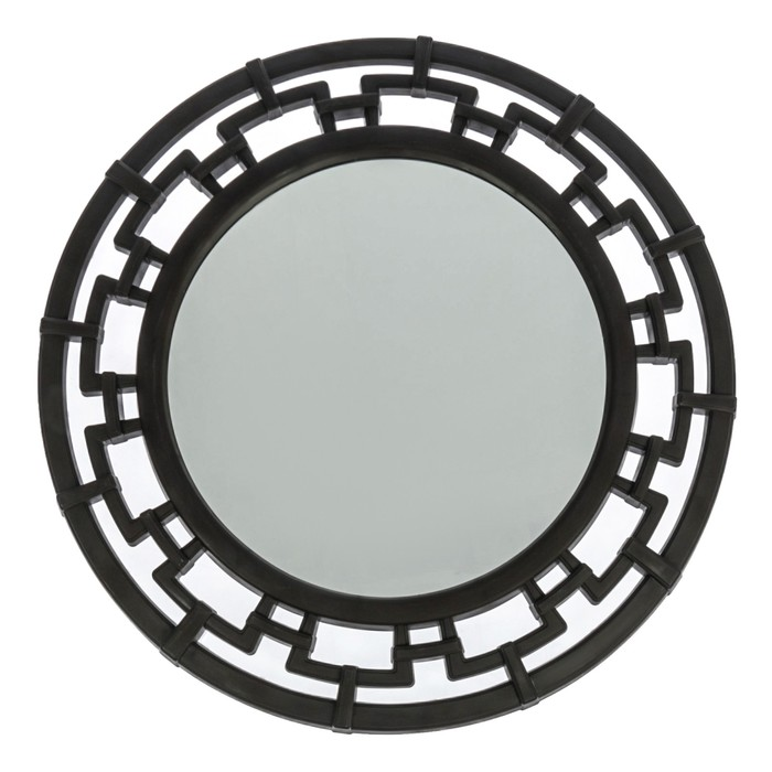 """Зеркало круглое """"Эллада"""", цвет венге"""
