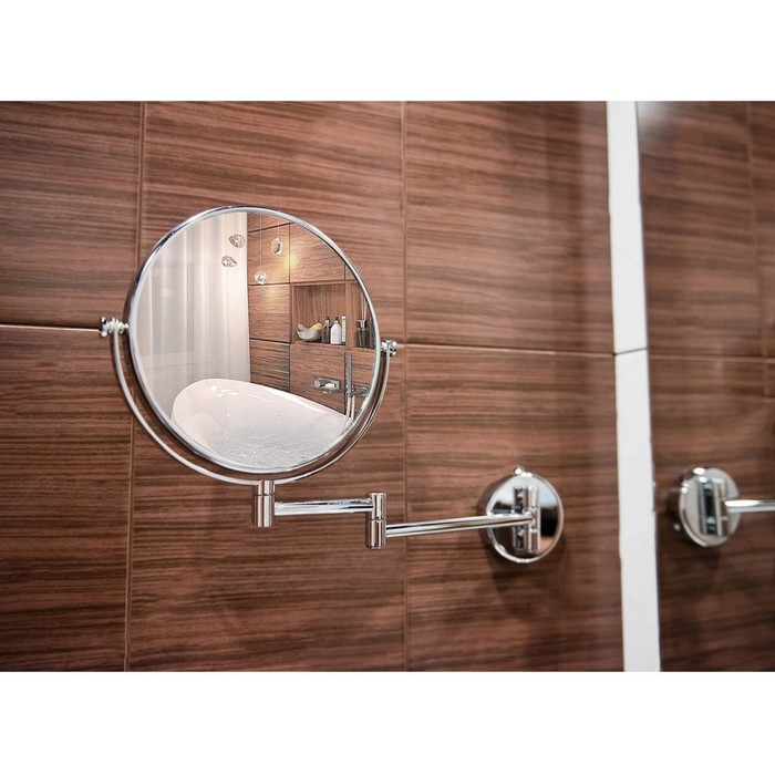 """Зеркало настенное двухстороннее, увеличительное """"Accoona А223-8"""""""