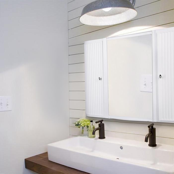 Набор для ванной комнаты Hilton Premium, цвет белый