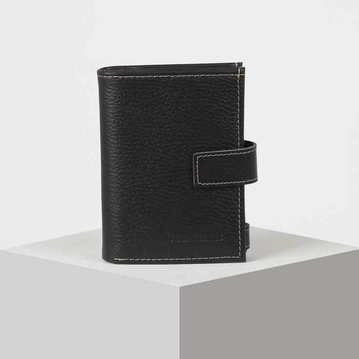 Бумажник водителя, цвет чёрный