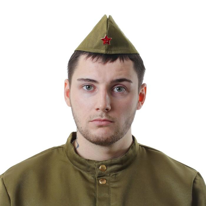 Пилотка «Русская армия всех сильней», обхват головы 54-57 см