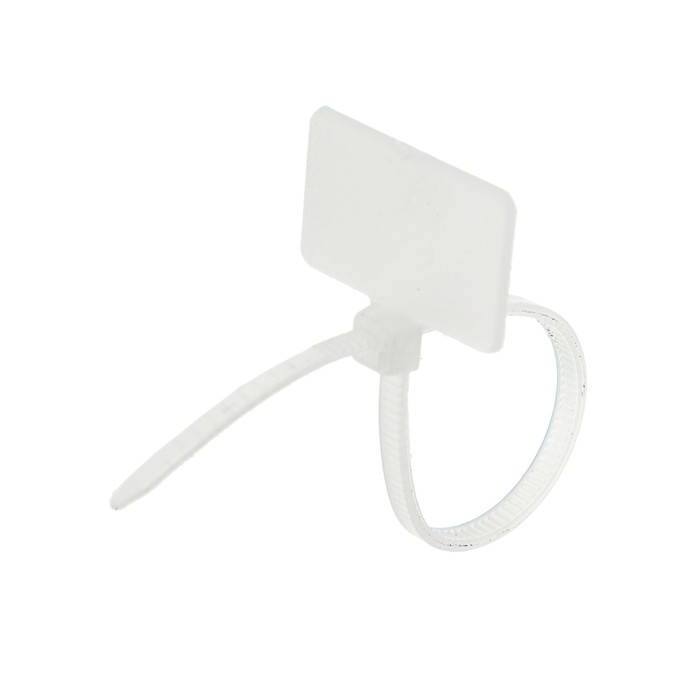 Хомут нейлоновый TUNDRA krep, маркировочный, тип 1, 2.5х100 мм, в упаковке 100 шт.