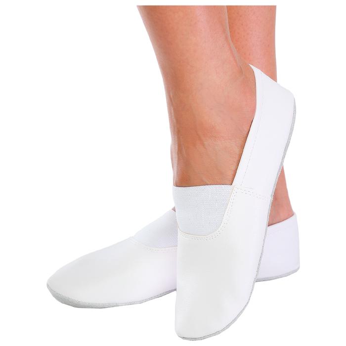 Чешки комбинированные, цвет белый, размер 155 (длина стопы 17,3 см)