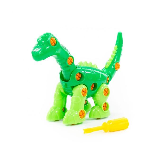 Конструктор «Динозавр Диплодок» 35 элементов, пакет