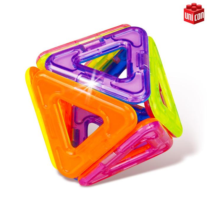 Магнитный конструктор Magical Magnet, 22 детали, детали матовые