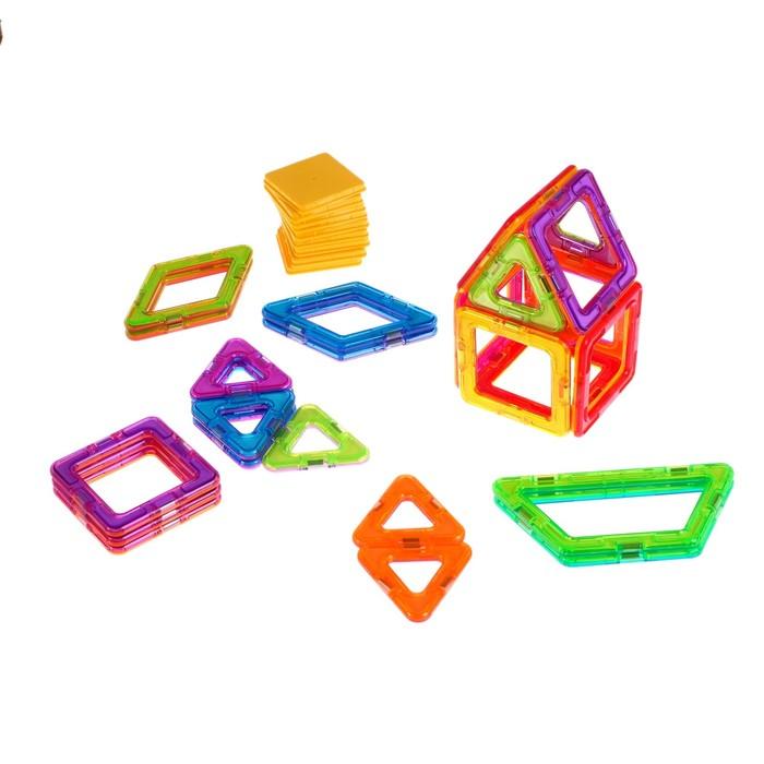 Конструктор магнитный «Магический магнит», 35 деталей