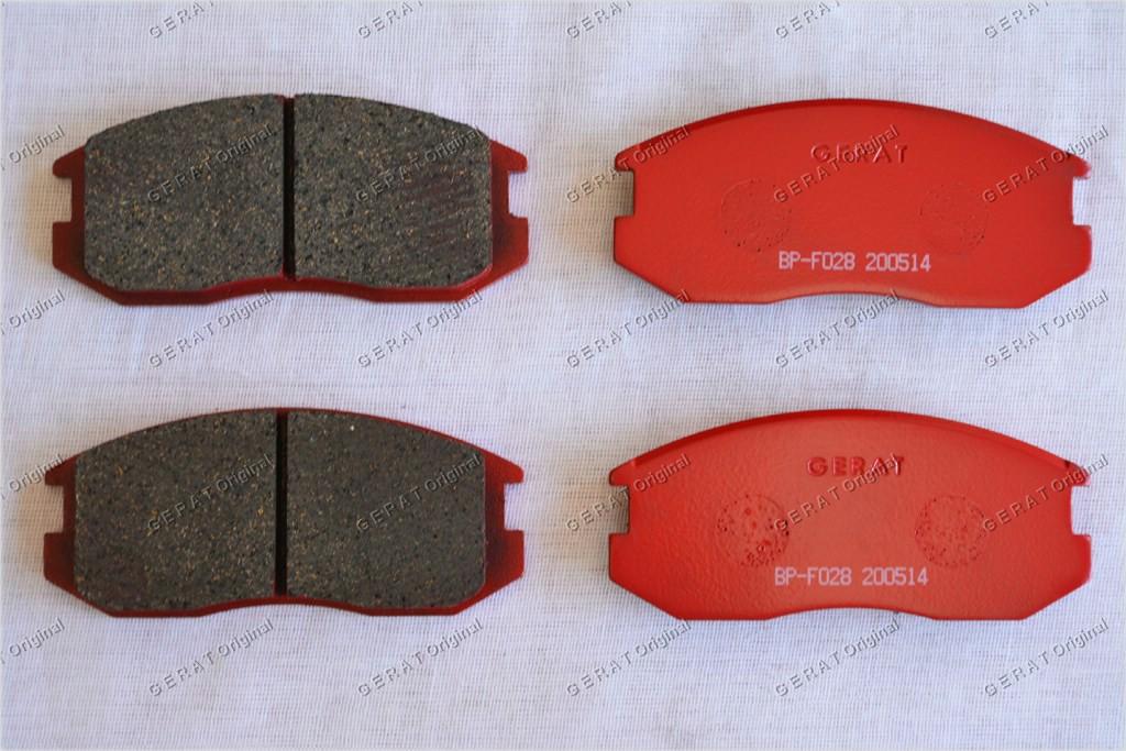 Тормозные колодки Gerat BP-F028