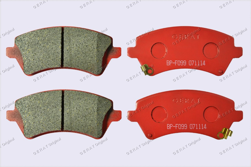 Тормозные колодки Gerat BP-F099