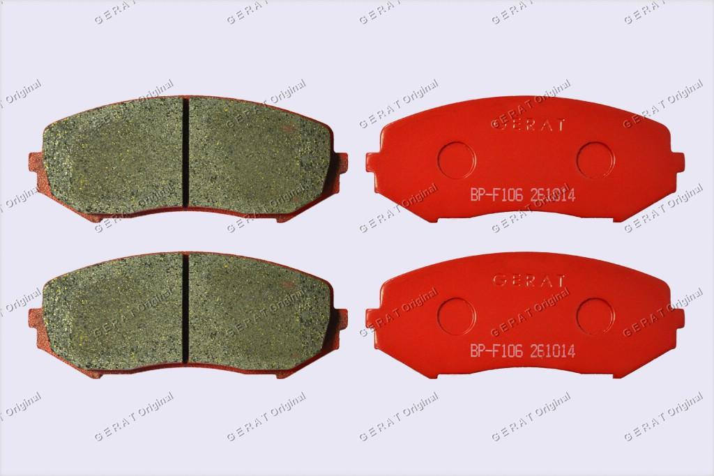 Тормозные колодки Gerat BP-F106