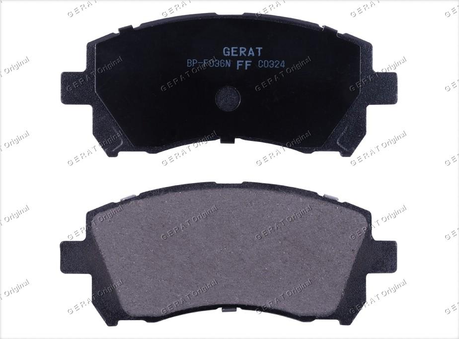 Тормозные колодки Gerat BP-F036 Normal