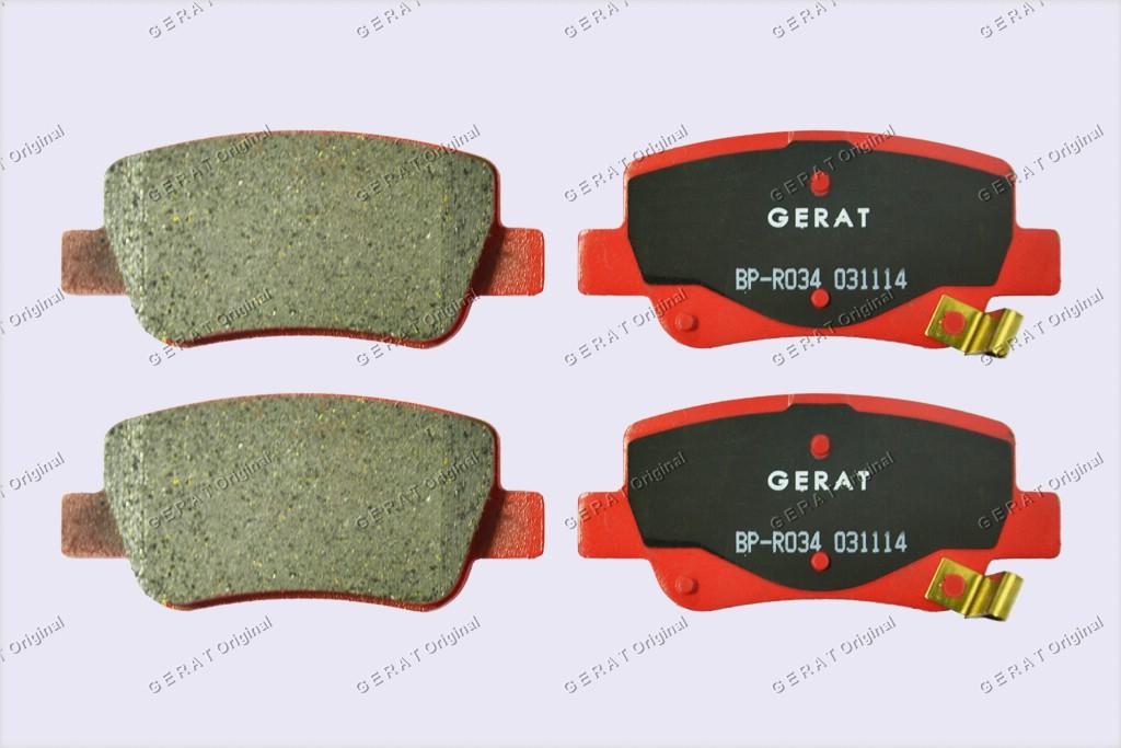 Тормозные колодки Gerat BP-R034