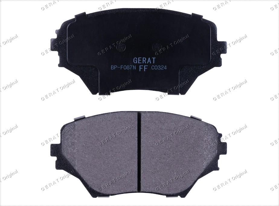 Тормозные колодки Gerat BP-F087 Normal
