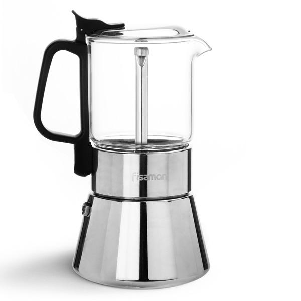 Гейзерная кофеварка Fissman 3319