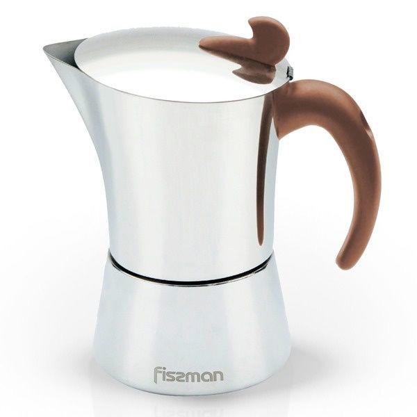 Гейзерная кофеварка Fissman EM-9416.12