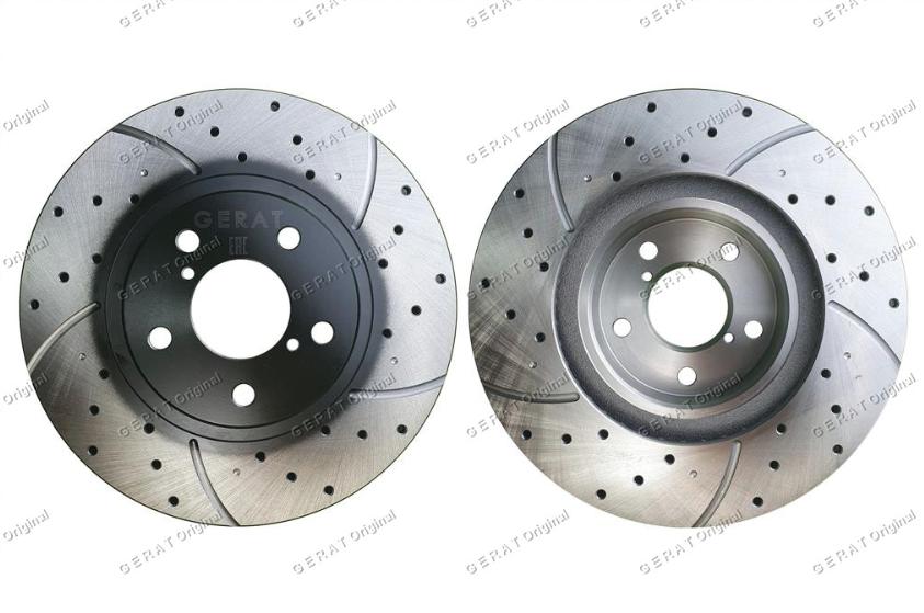 Тормозные диски Gerat DSK-F029W