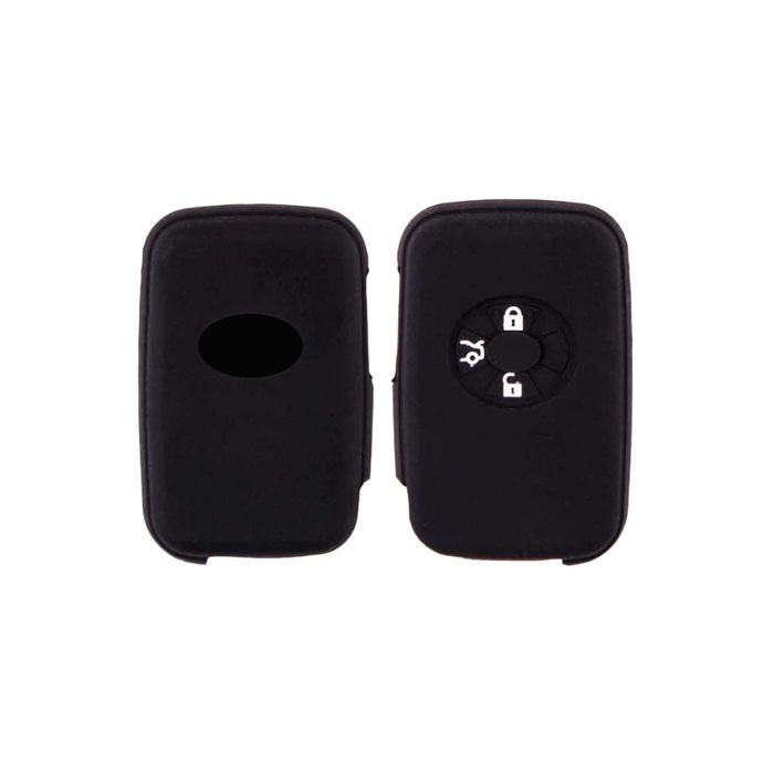 Чехол на ключ автомобильный SKYWAY, силиконовый TOYOTA (YARIS,RAV4)