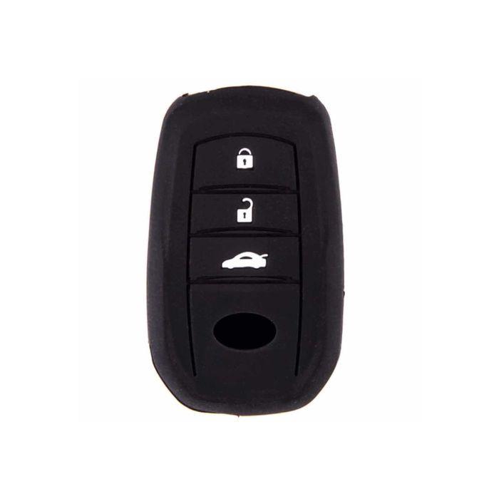Чехол на ключ автомобильный SKYWAY, силиконовый TOYOTA REIZ, HIGHLANDER, RAV4