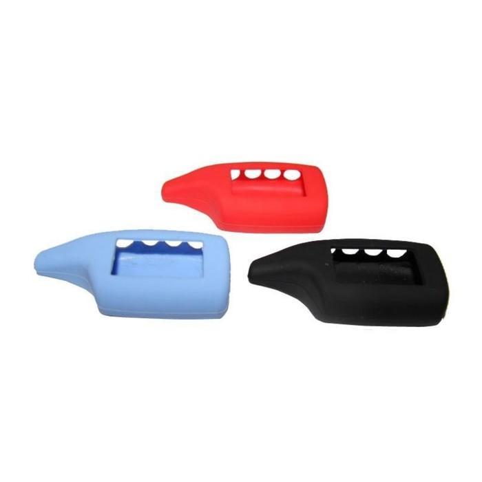 Чехол брелка, силиконовый Scher-Khan Magicar A, B голубой