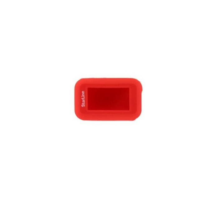 Чехол брелка, силиконовый Starline E90 красный