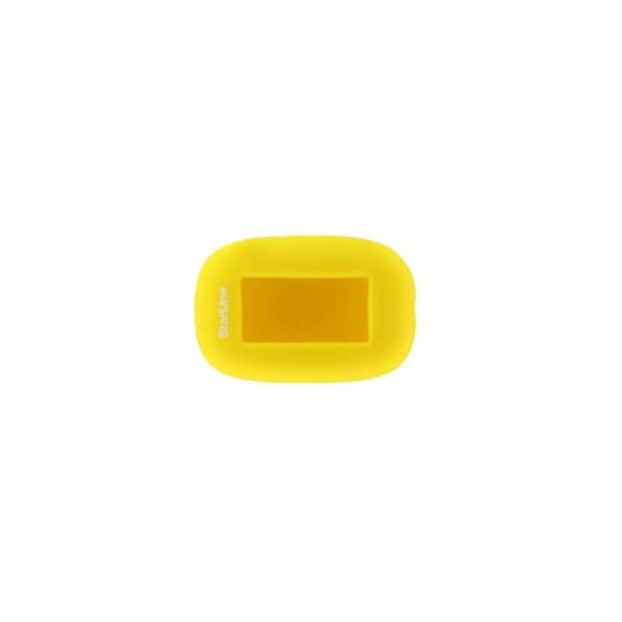 Чехол брелка, силиконовый Starline B92, B94 желтый