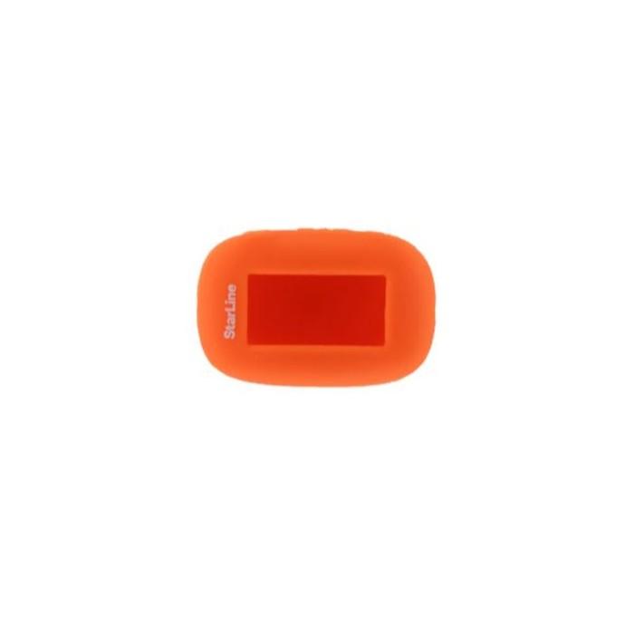 Чехол брелка, силиконовый Starline B92, B94 оранжевый