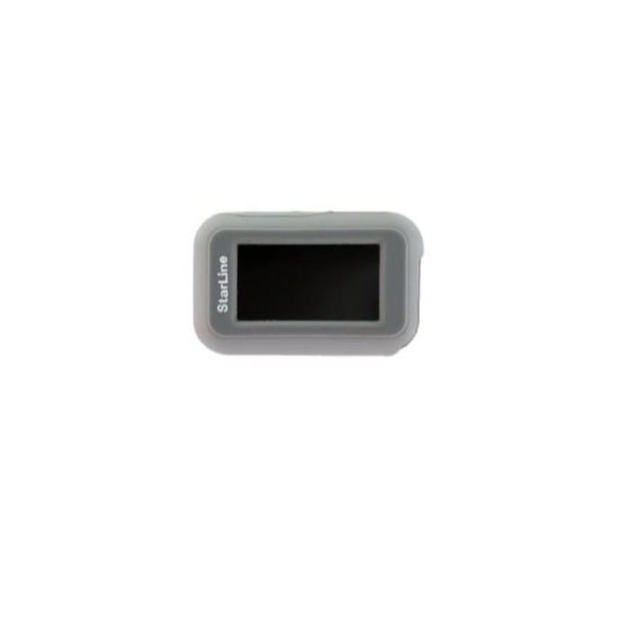 Чехол брелка, силиконовый Starline E90 серый
